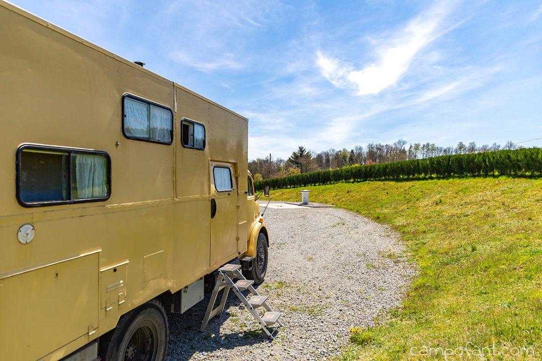 Camping Municipal - kostenlose Übernachtungsmöglichkeiten