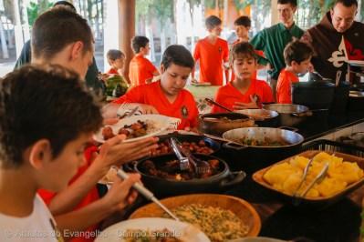 Almoço na Pousada Paraíso Tropical