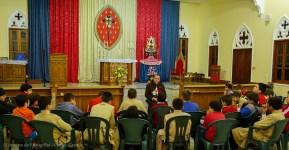 Reunião sobre Nossa Senhora Apareida