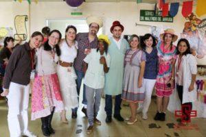 Festa Junina no setor de Pediatria da Santa Casa de Campo Grande (MS) – Foto: Divulgação