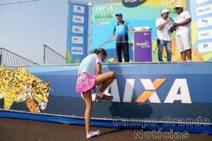 Campanha sensibiliza atletas – Foto: Luiz Doro/adorofoto