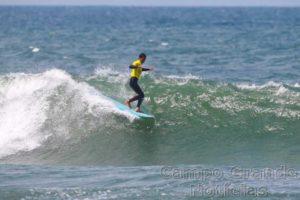 Surfista Augusto Olinto no Longboard Pro Gaia em Portugal – Foto:  Laurent Masurel/WSL