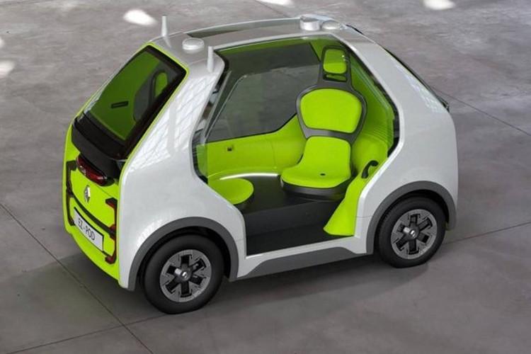 Renault EZ-Pod foi feito para duas pessoas (Foto: Divulgação)