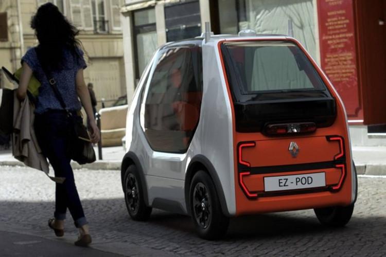 EZ-Pod foi projetado para percorrer distâncias curtas na cidade (Foto: Divulgação)