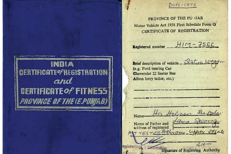 O jipão tem um manual de segunda mão assinado pelo irmão de Dalai Lama (Foto: Divulgação)