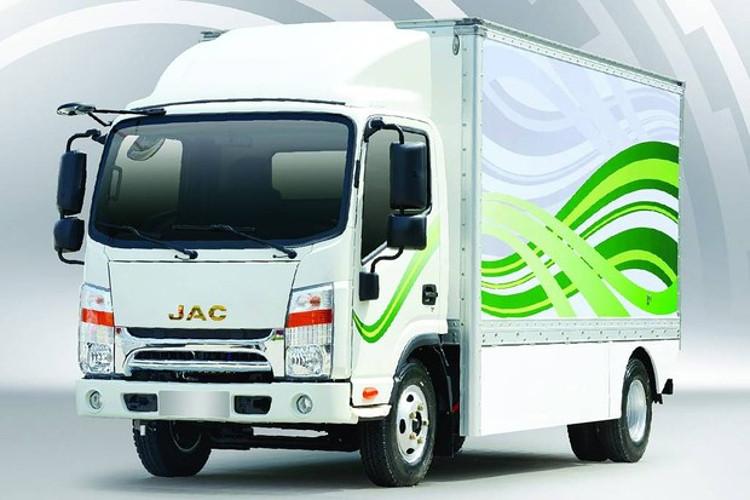 JAC iEV 1200 (Foto: Divulgação)