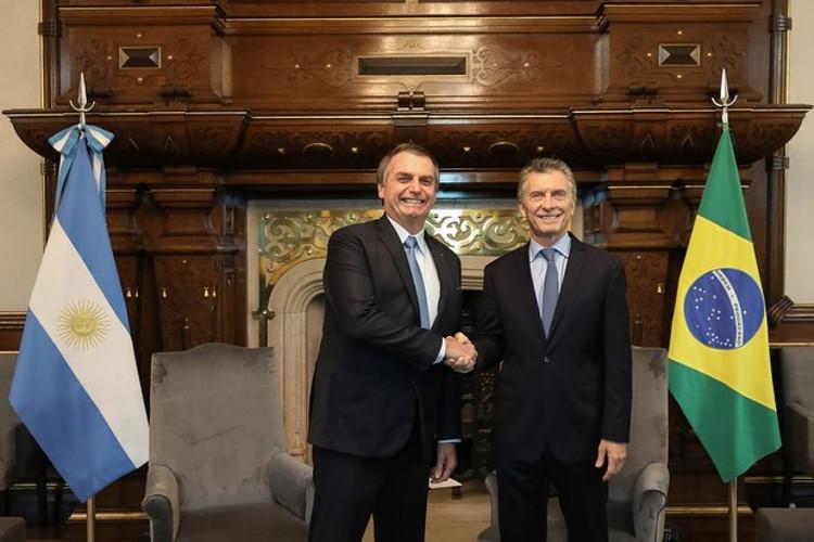 Macri e Bolsonaro se reúnem na Argentina (Foto: Marcos Corrêa/PR)