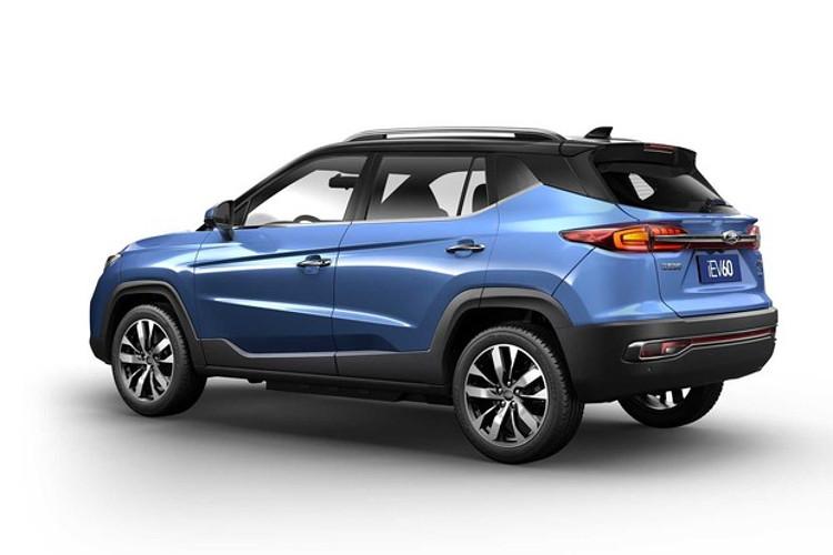 JAC iEV 60 é o SUV elétrico que tem quase o mesmo preço do Nissan Leaf (Foto: Divulgação)