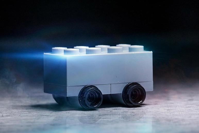 A Lego fez a sua versão bloquinho da Cybertruck (Foto: Divulgação)