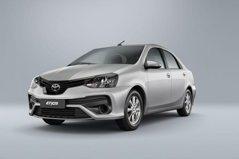 Toyota Etios Sedã oferece kit GNV como opcional por R$ 5.360 (Foto: Divulgação)