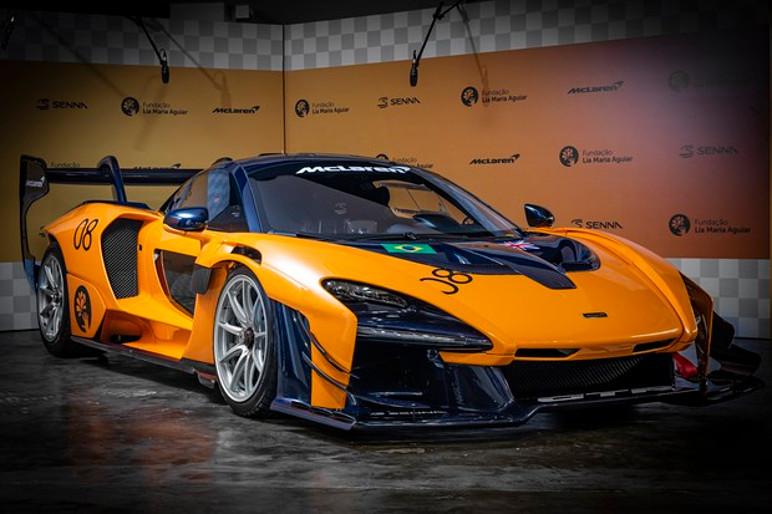 McLaren Senna GTR é feito para as pistas e não pode andar na rua (Foto: Divulgação)