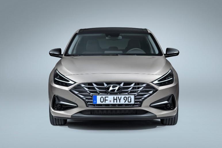 Novo Hyundai i30 foi divulgado pela montadora coreana (Foto: Divulgação/Hyundai)