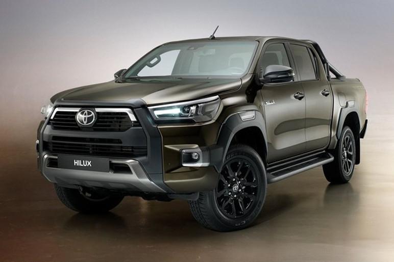 As principais mudanças visuais da Toyota Hilux 2021 estão na dianteira (Foto: Divulgação)