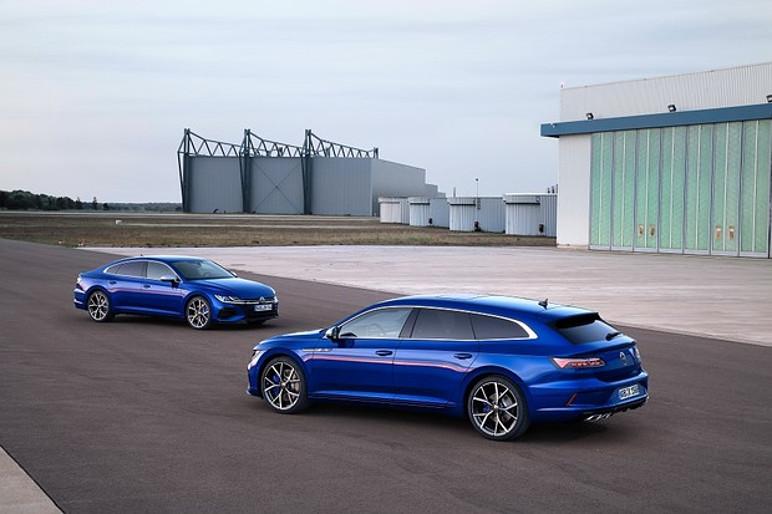 Volkswagen Arteon agora é ofertado nas carroceria sedã e perua (Foto: Divulgação)
