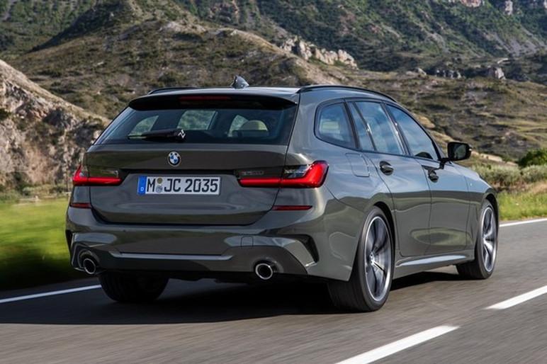 BMW Série 3 Touring viria na versão M340i xDrive com quase 400 cv e um visual arrebatador (Foto: Divulgação)