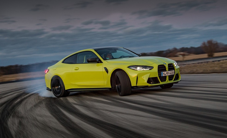 Bmw M4 Yellow