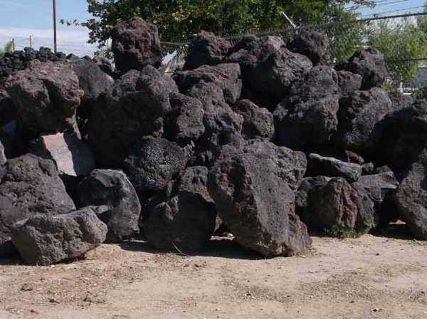 boulders - blue rock landscape