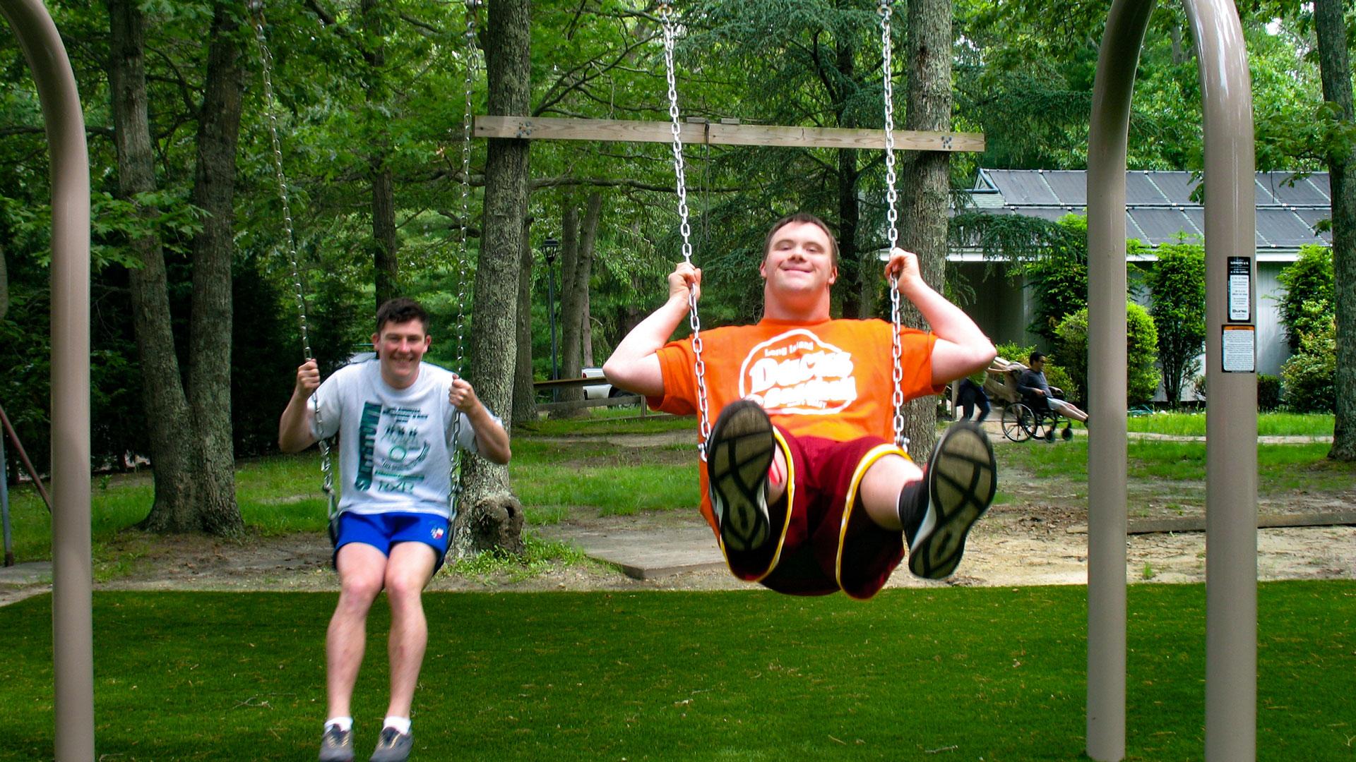 Camp Pa-Qua-Tuck swings