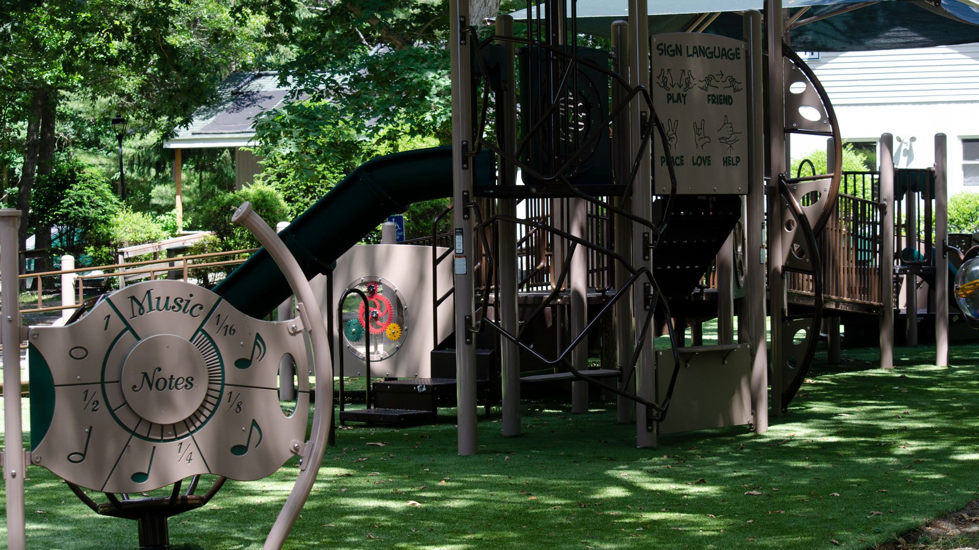 Camp Pa-Qua-Tuck playground