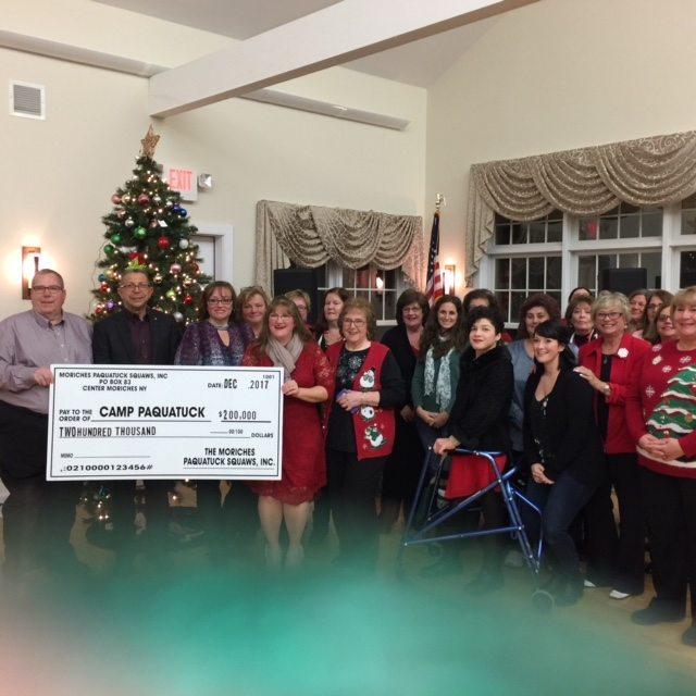 Moriches Pa-Qua-Tuck Squaws Donation