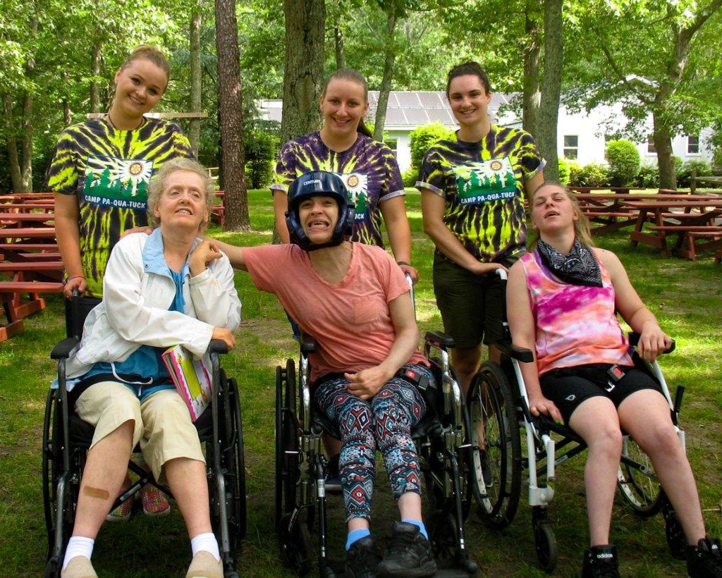 special needs campers & volunteers