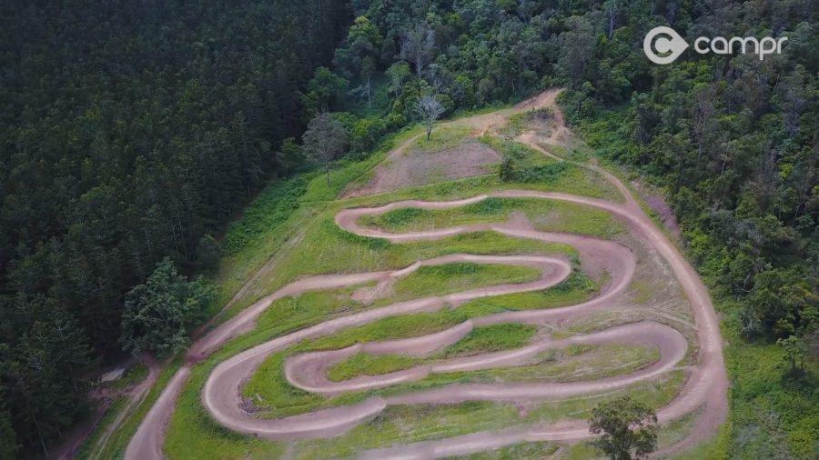 Privately owned dirt bike tracks called Parklands MX Park