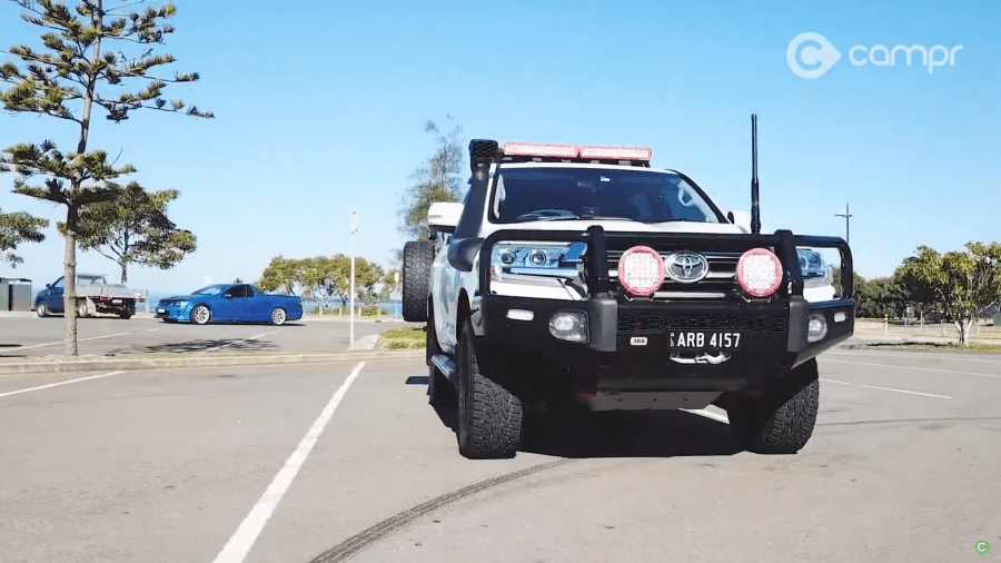 ARB 200 Series LandCruiser with 4x4 aftermarket accessories