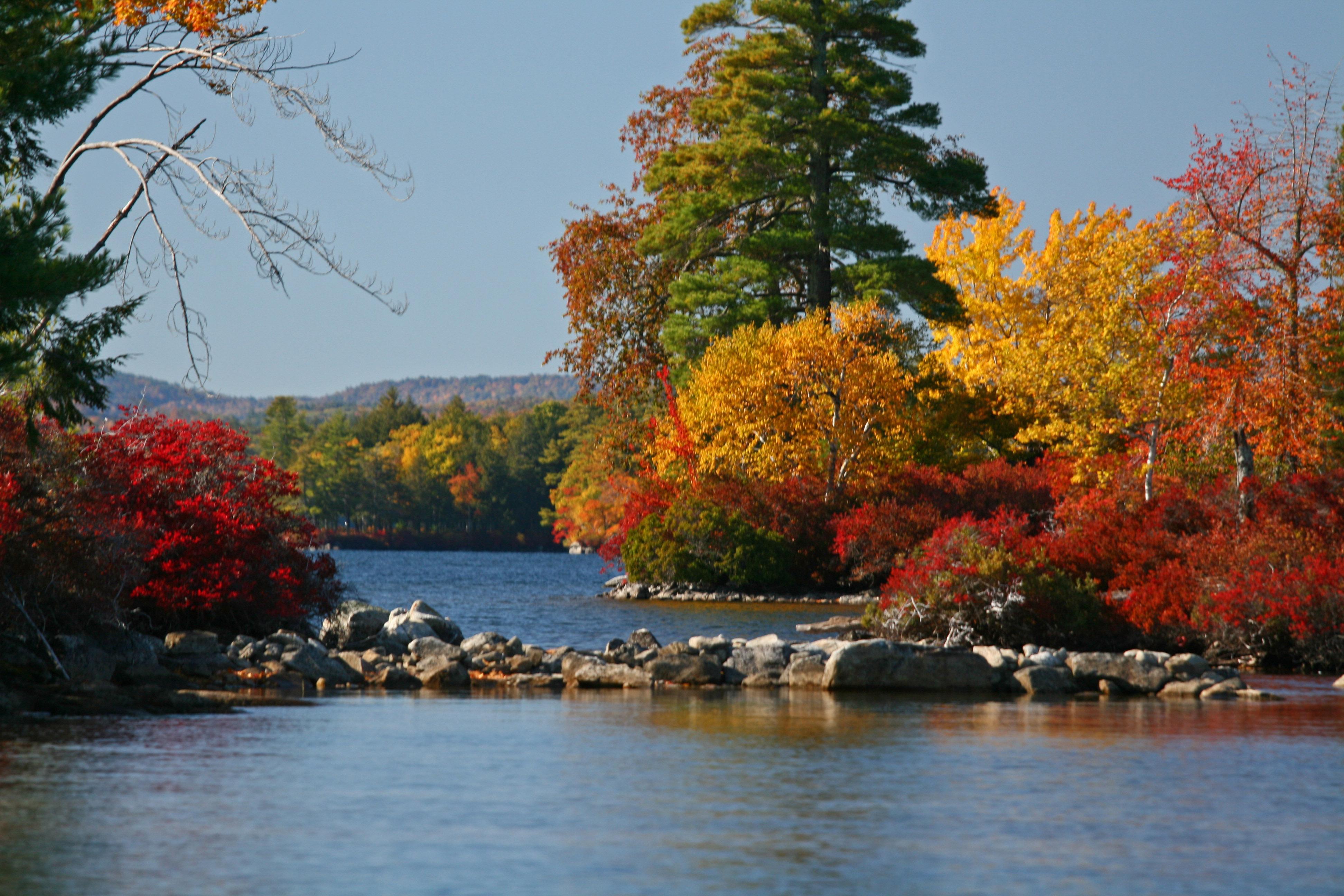 Camp on Lake Winnipesaukee  The Best Of New England