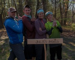 Julie's Angels, the third place finishers!