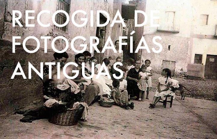 Recogida de fotografías antiguas