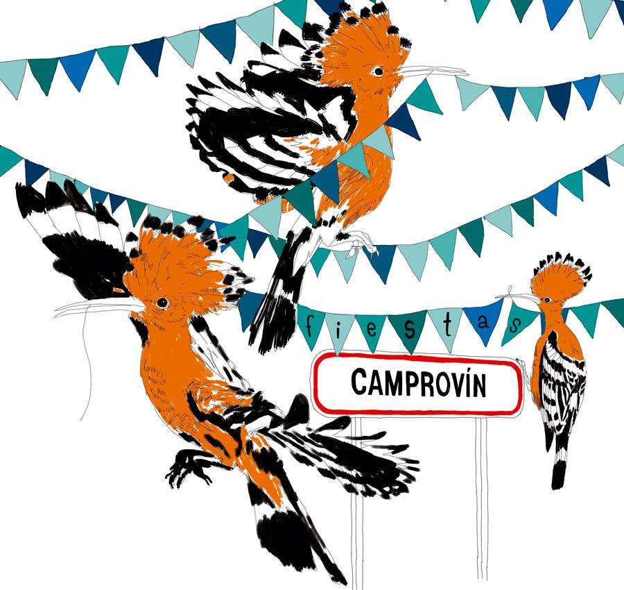 ¡Fiestas de Camprovín! Del 12 al 16 de agosto.