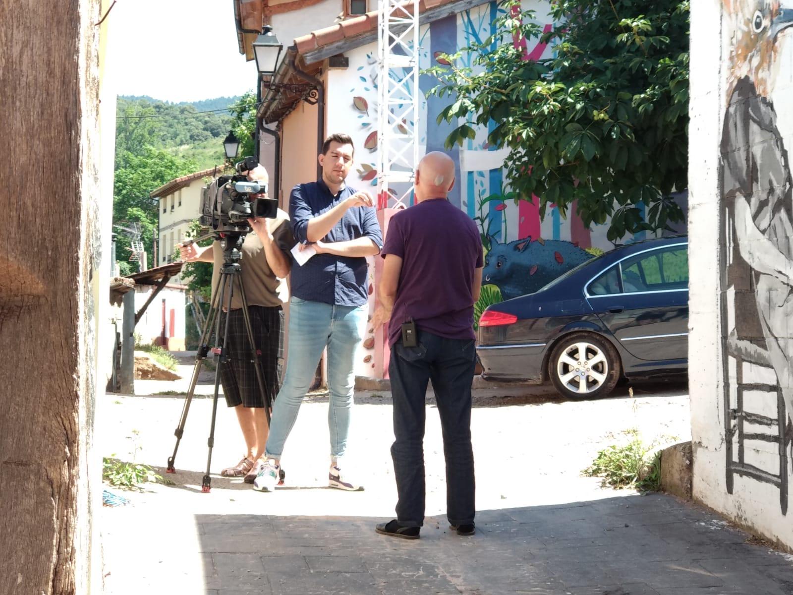 RTVE visita Camprovín