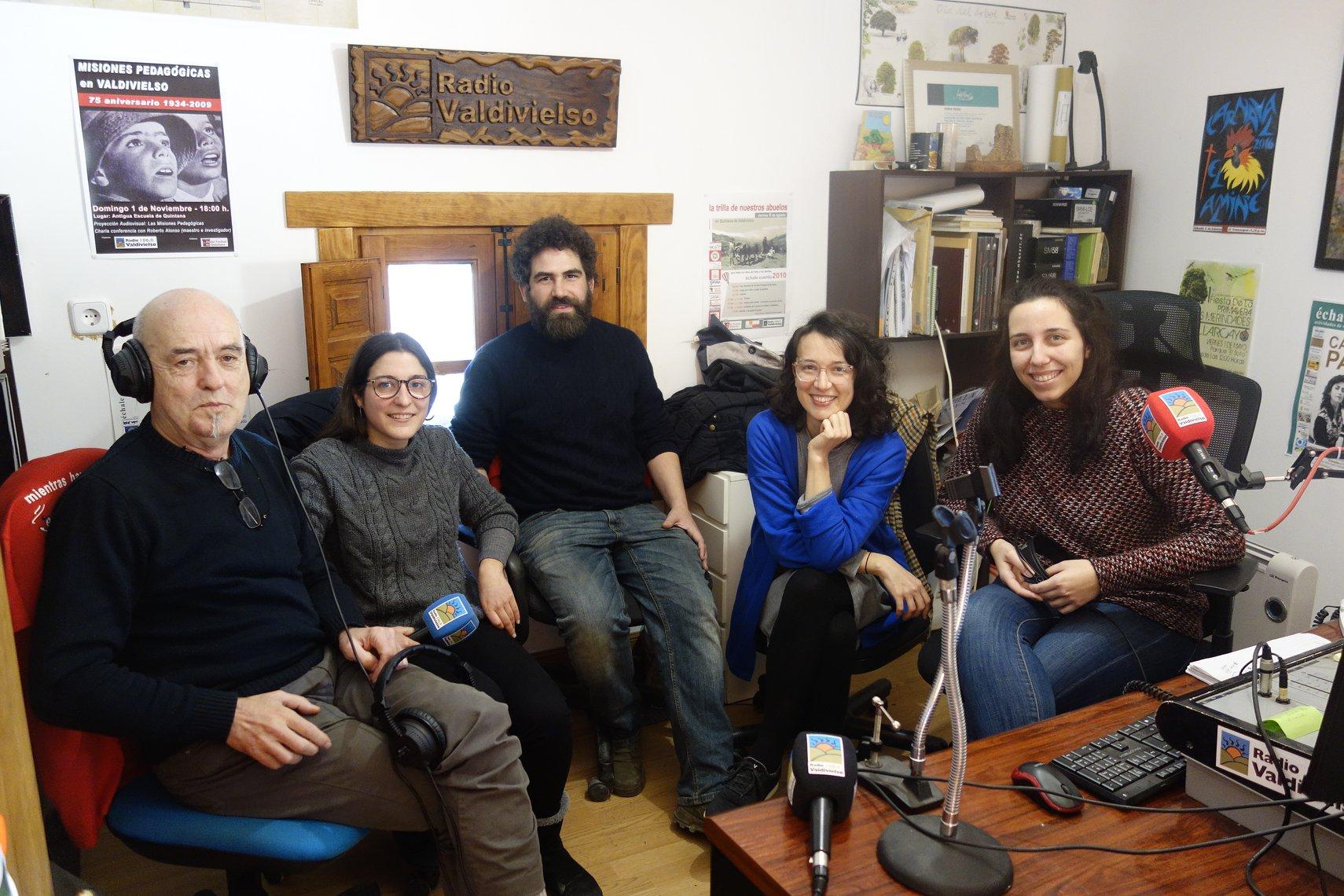 Camprovín Radio en Radio Valdivielso