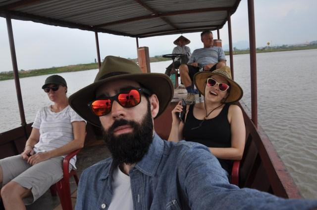 Floating village bound