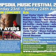 Campsoul Music Festival 2014 flyer image