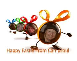Happy Easter 2015 from Campsoul Crew