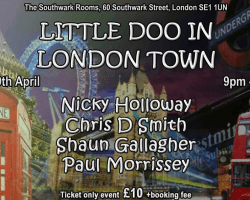 Little Doo in London Town Event