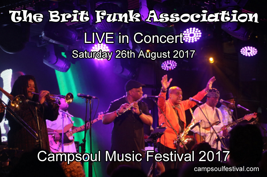 The Brit Funk Association Live UK Concert 2017