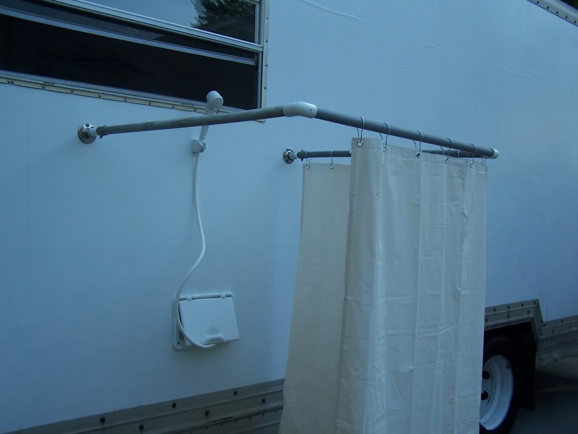 DYI – How To Build An RV Outdoor Shower Stall Camp That Site