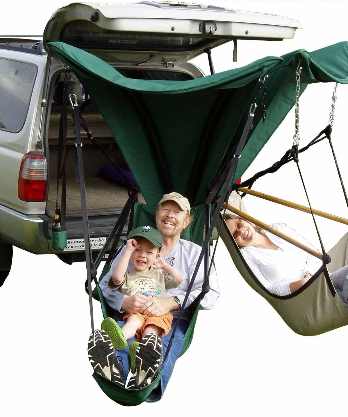 green chair 2005 trailer hollywood regency style dining chairs h  5 hammock styles for your next camping trip camp