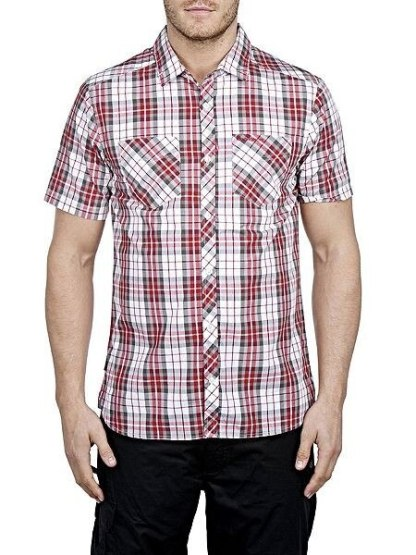Craghoppers Kalifa Shirt - Red Combo