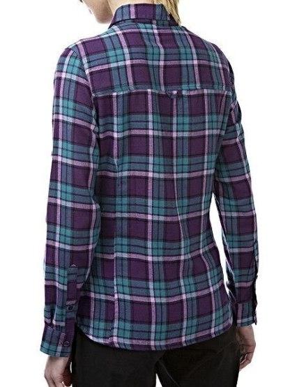 Craghoppers Braworth Shirt- Aubergine