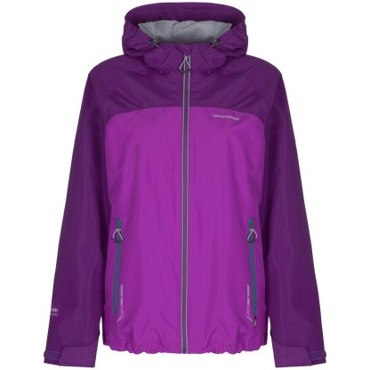 Craghoppers Reaction Lite Jacket - Cosmic Pink / Diva Purple