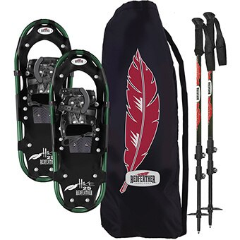 Redfeather Hike Series Snowshoe Kit Men's 8 x 25 and 9 x 32 kits