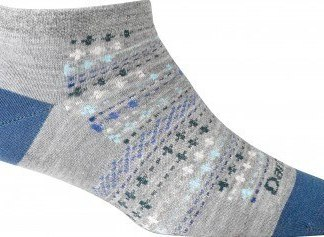 Darn Tough Women's Lifestyle Farmer's Market No Show Light Merino Wool Sock
