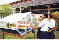เตาอบพลังงานแสงอาทิตย์ นวัตกรรมไอเดียเด็ดเด็กใต้