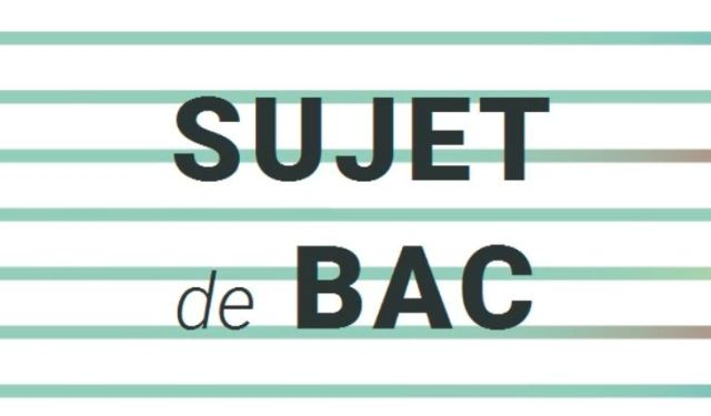 BACTCV2_Sujet de Bac de français n°3