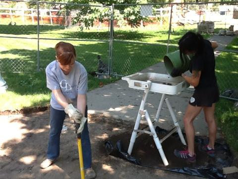 Continuing to excavate