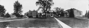 Laboratory Row, courtesy MSU Archives