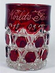 Example of Souvenir Glass from the World's Fair